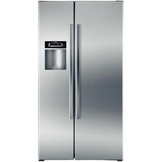 Bosch 300 Series 22.1-cubic Foot Counter-depth Side By Side Refrigerator