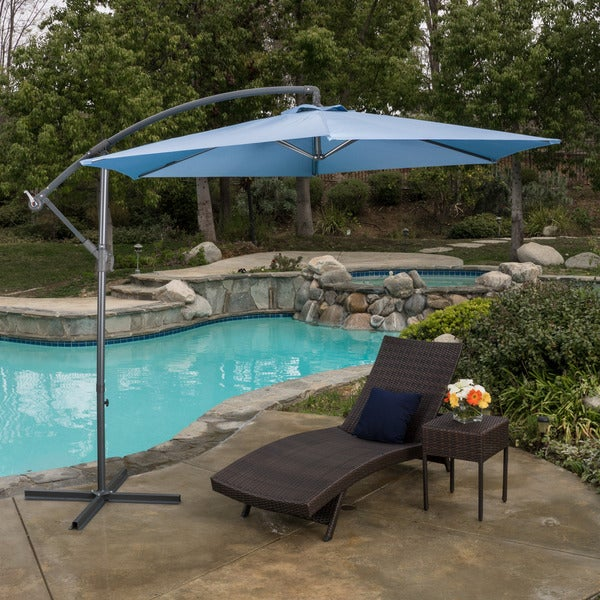 Christopher Knight Home Outdoor Monterey Banana 9.8-foot Canopy Umbrella