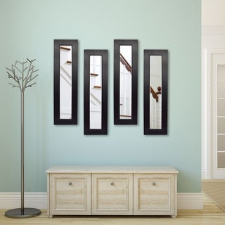 American Made Rayne Black Superior Mirror Panel