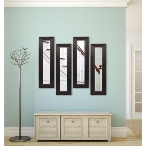 American Made Rayne Dark Walnut Mirror Panel - Dark Walnut 17290567