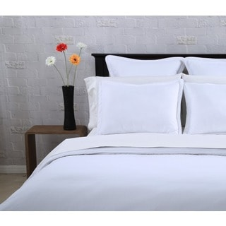 Affluence White Duvet Cover 3-piece Set