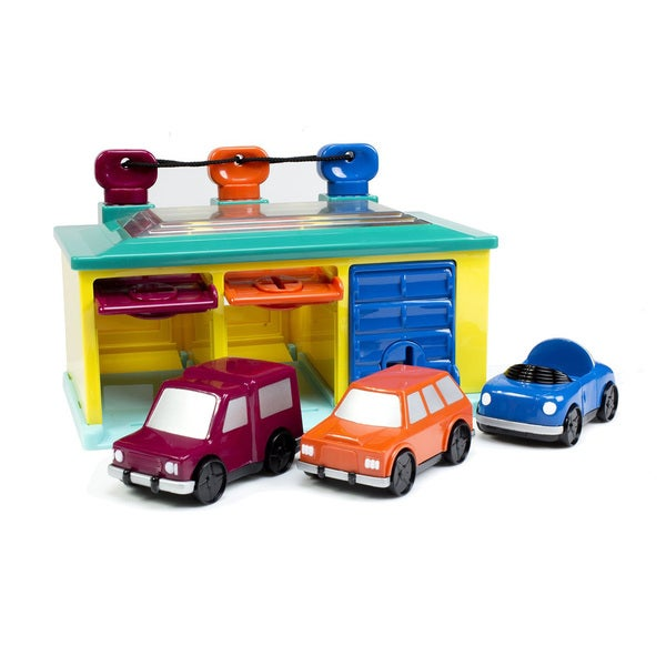 Toysmith 3 Car Garage Playset
