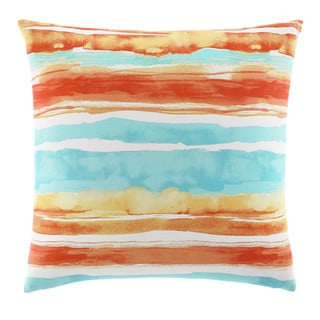 Tommy Bahama Watercolor Stripe 20-inch Decorative Pillow