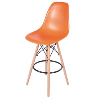 Retro Eames Style 30-inch Bar Stool