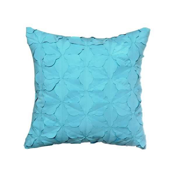 Teen Vogue Teal Textured Decorative Pillow