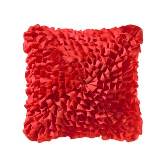 Teen Vogue Rose Ruffled Decorative Pillow