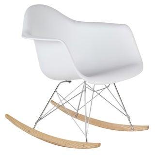 Retro Eames Style Rocking Chair