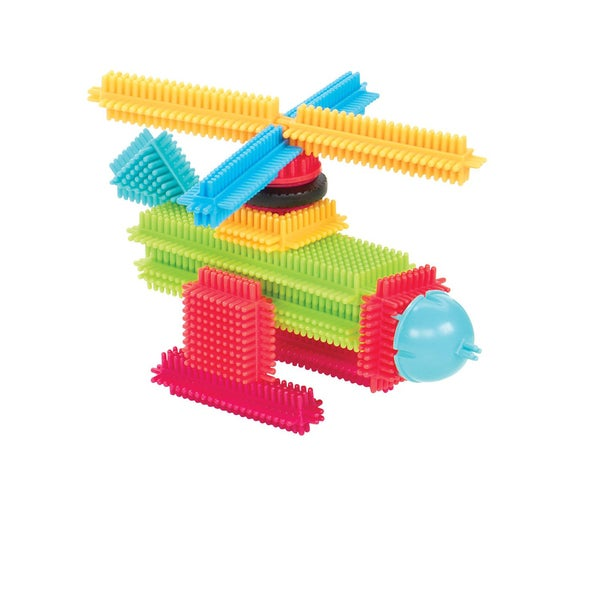 Toysmith Bristle Blocks Basic 112-piece Set