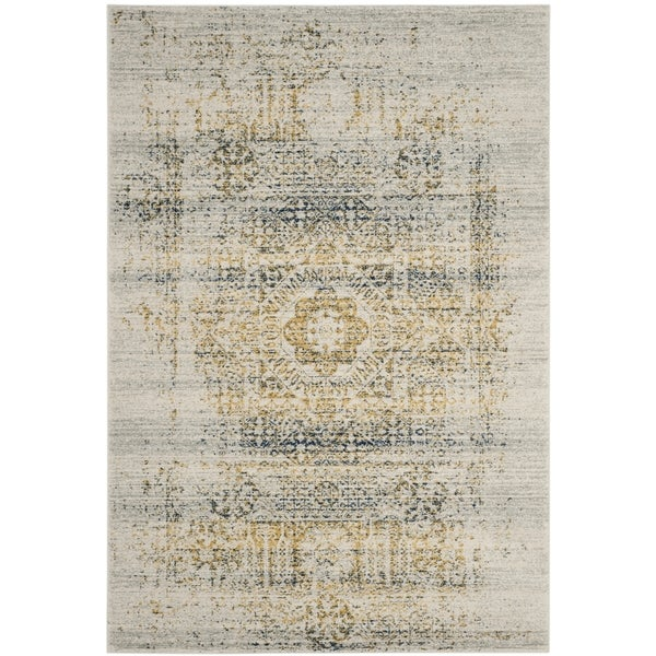 Safavieh Evoke Ivory/ Blue Rug (3' x 5')