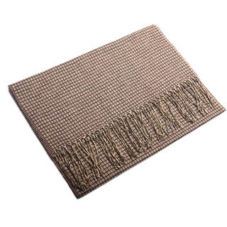 Ermenegildo Zegna Men's Cashmere and Linen Scarf