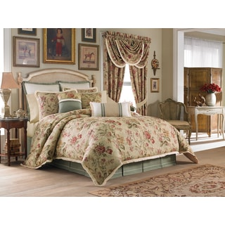 Croscill Cottage Rose 4-piece Comforter Set