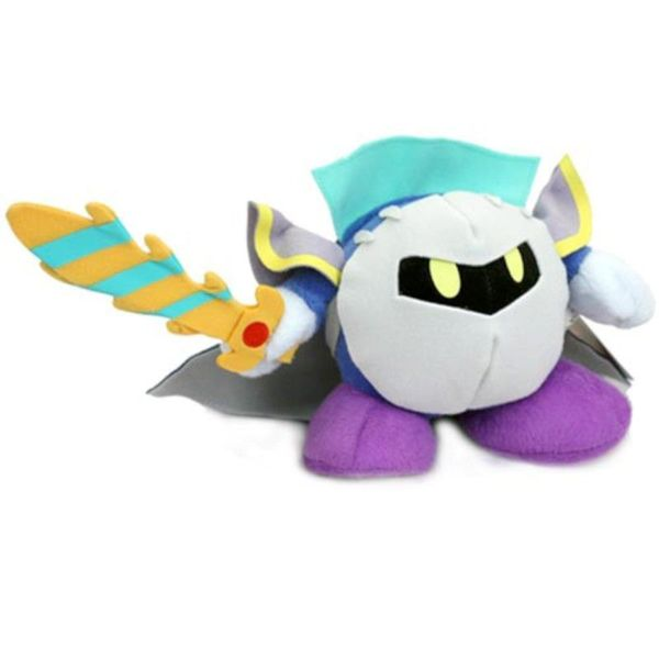 Nintendo 6-inch Kirby Metaknight Stuffed Plush Doll Kids Toy