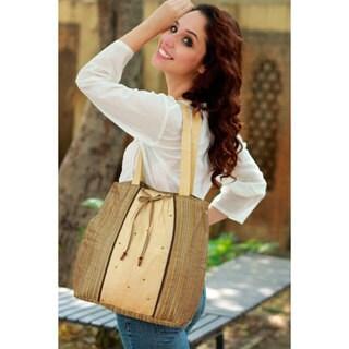 Silk 'Assam Luxury' Shoulder Bag (India)