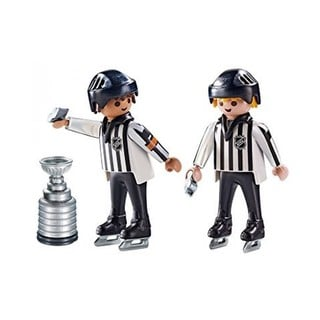 Playmobil Sports and Action NHL Referees with Stanley Cup