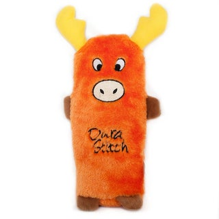 Orange Moose Squeakie Dog Toy
