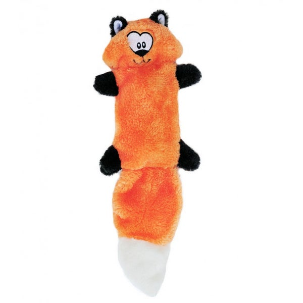 Zingy Fox Zippypaws Squeaky Dog Chew Toy