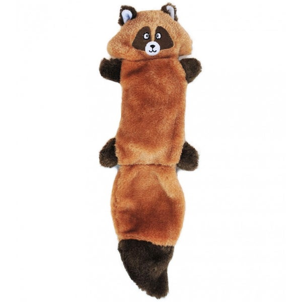 Zingy Raccoon Zippypaws Squeaky Dog Chew Toy