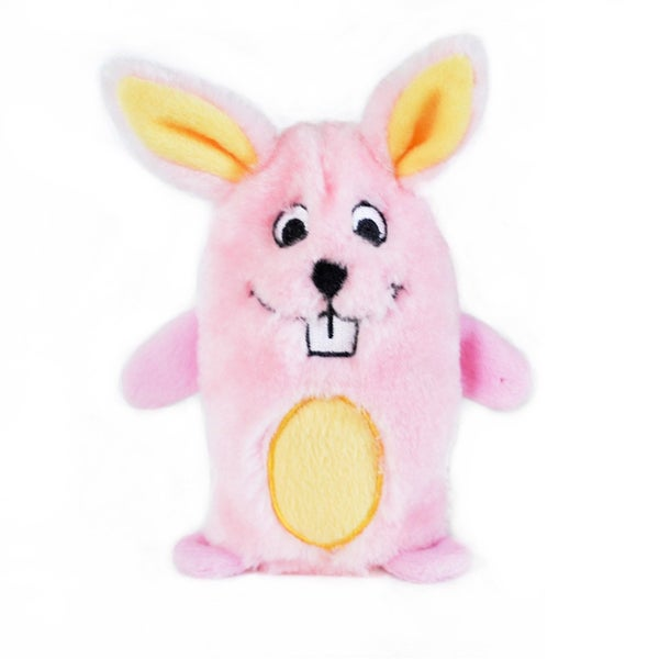 Bunny Squeakie Buddie Zippypaws Squeaky Dog Chew Toy