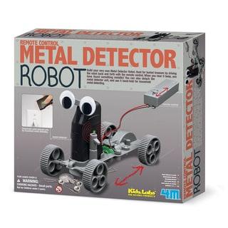 4M Kids Labs Metal Detector Robot