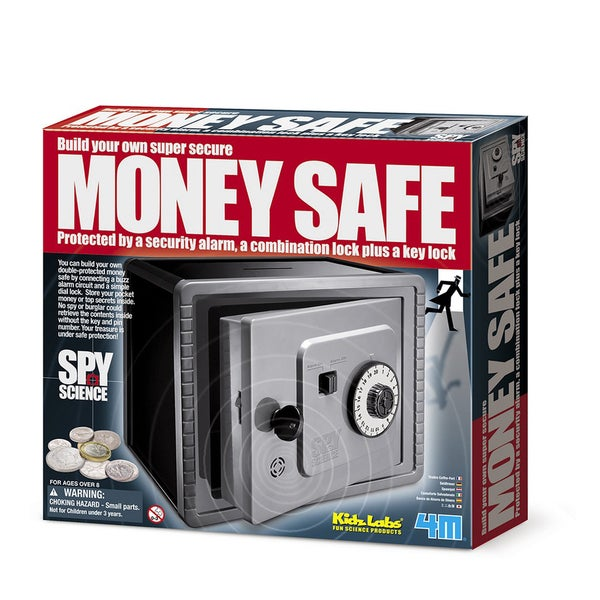 4M Spy Science Build Your Own Money Safe Kit