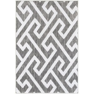 LNR Home Grace LR81121 Grey Rug (7'6 x 9'6)