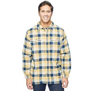 Stanley Men's Flannel Micro Fleece Shirt