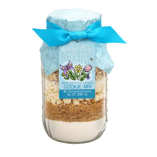 Spring Fling White Chocolate Oatmeal Cookie Mix