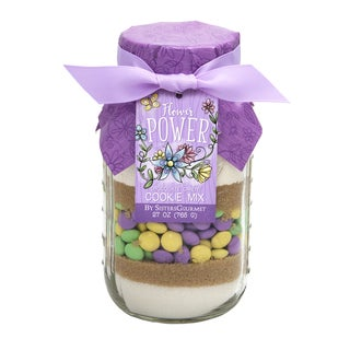 Flower Power Chocolate Candy Cookie Mix