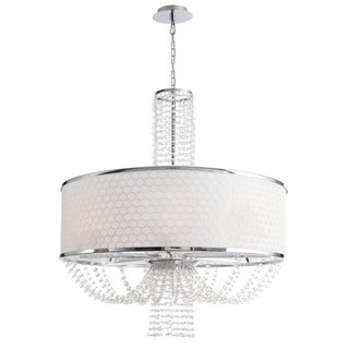 Crystorama Allure Collection 8-light Chrome Chandelier