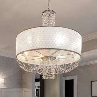 Crystorama Allure Collection 6-light Chrome Chandelier