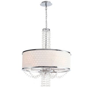 Crystorama Allure Collection 5-light Chrome Chandelier