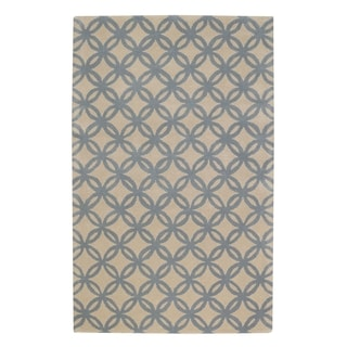 Derry-Optic Rectangle Hand Tufted Rugs (8' x 11')