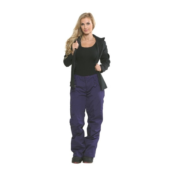 The North Face Women's Freedom LRBC Insulated Pants Medium Size in Black (As Is Item)