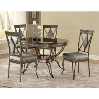Mystic Black Round Dinette Table