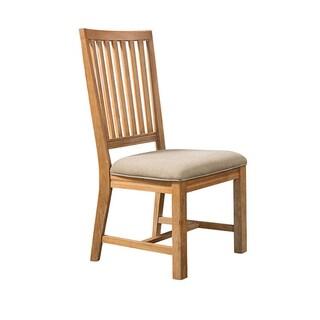 Sebastian Weathred Slat Back Side Chair (Set of 2)