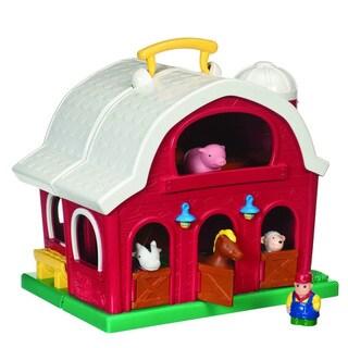 Battat Farm House, Animals and Farmer Play Set