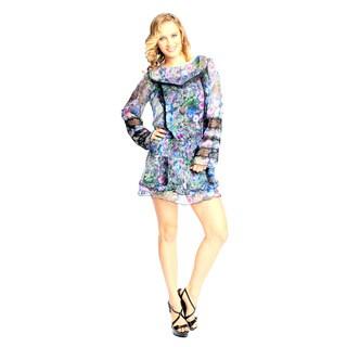 Sara Boo Women's Romantic Drop Waist Dress