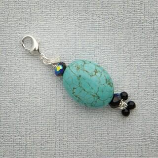 Turquoise Magnesite Charm