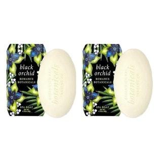 Black Orchid Botanical Spa Soap (Set of 2)