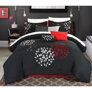 Chic Home 12-Piece Chelsia Oversized Comforter Set