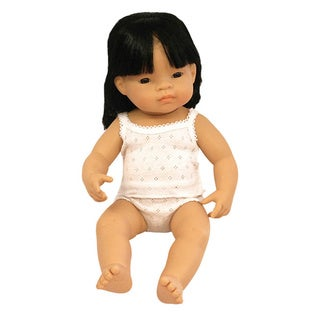 Miniland Educational Asian Baby Doll