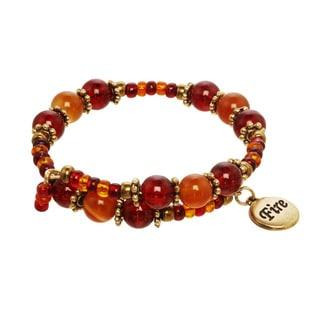 Fire Element Charm Bracelet