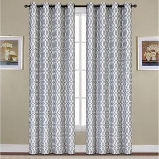 Oakland Woven Grommet Curtain Panel