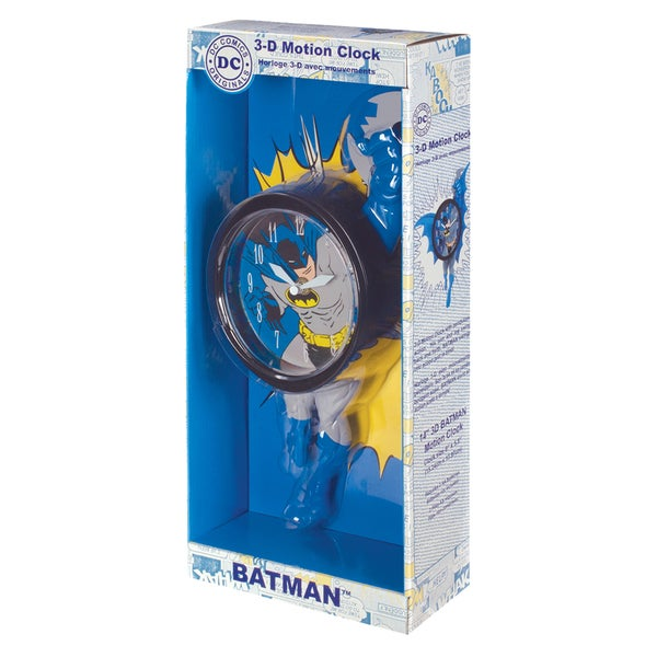 NJ Croce Batman 3D Motion Clock 17297988