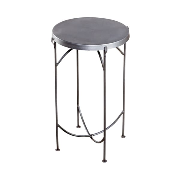 Cap Top Side Iron Table (India)