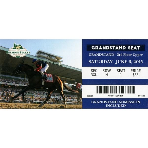 2015 Belmont Stakes Original Ticket