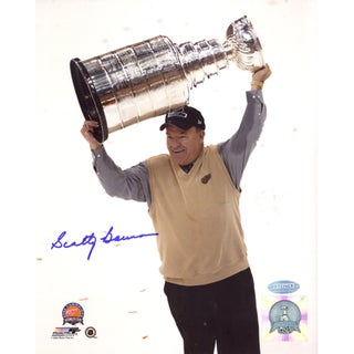 Scotty Bowman Cup Overhead Vertical 8x10 Photo