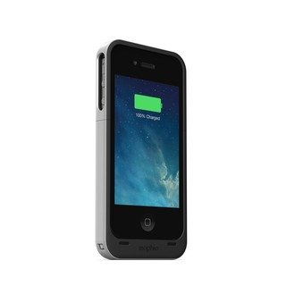 Mophie Juice Pack Air for Apple iPhone 4/4s Certified Refurbished - Black