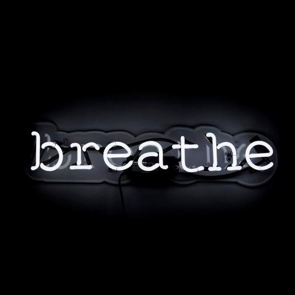 Oliver Gal 'Breathe' Neon Sign 17298522