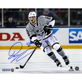 Drew Doughty Signed Los Angeles Kings 2015 Stadium Series against the Sharks 8x10 Photo